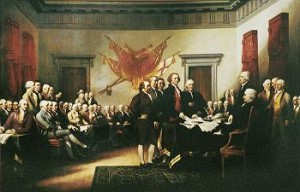 Trumbull's Declaration of Indenpendence